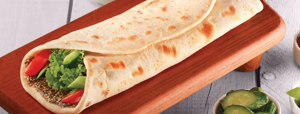 Saj - Cheese/Zaatar/Vegetables - Roman Zaman Restaurant
